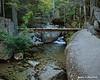 This interesting bridge crosses over Katahdin Stream on the trail