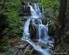 Katahdin Stream Falls next to the trail