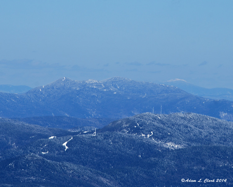 Some of the eastern contours of Mt. Mansfield
