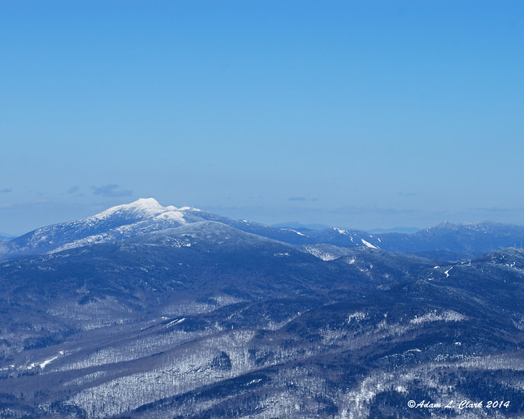 Mt. Mansfield and the ridge heading north