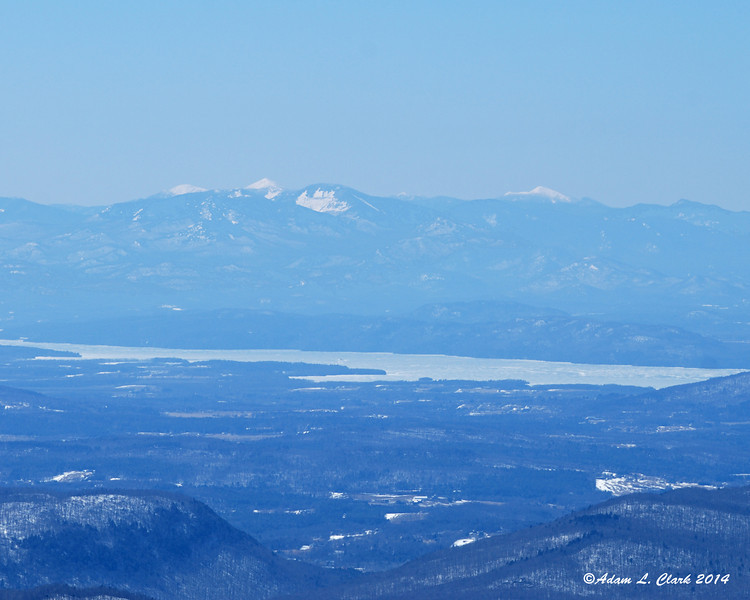 You could easily see to the Adirondacks in NY today