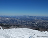 Looking northwest from the summit with Hunger Mtn in the distance