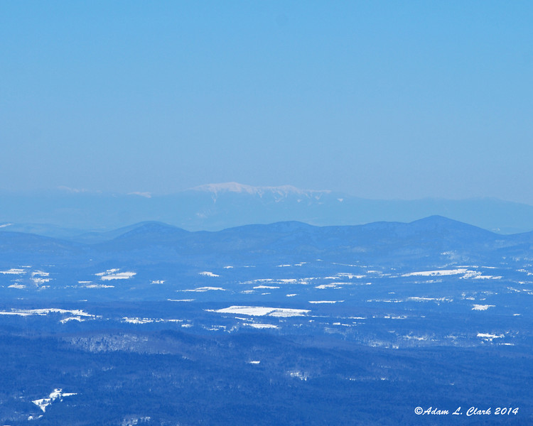 Franconia Ridge could also be seen in the distance to the east