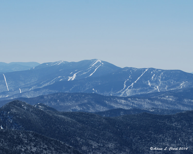 Mt. Abraham and Mt. Ellen to the south.  These are both 4,000 footers I will hike later this year