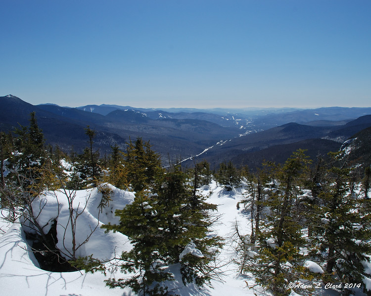 A nice view down into Franconia Notch