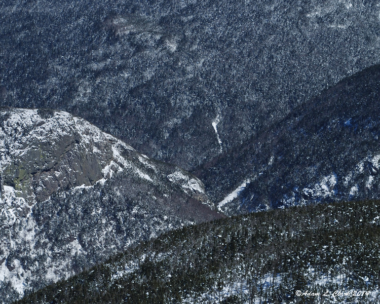 Looking over to Eagle Pass, the different layers of mountains seem to blend together some