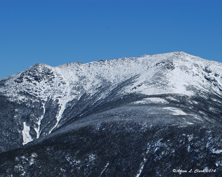 The northern end of Franconia Ridge