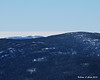 Mt. Moosilauke peaking over from behind South Kinsman.  That was my second choice for hiking today