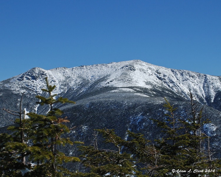 Mt. Lafayette as seen from the trail