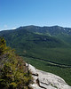 Mt. Lafayette and Mt. Lincoln on the Franconia ridge across the notch