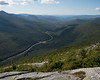 Interstate 93 leading up into Franconia Notch