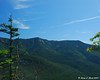 Mt. Lincoln and Little Haystack Mtn. from the first lookout on the Hi-Cannon Trail