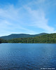 Lonesome Lake with North Kinsman and South Kinsman in the background