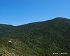 The hut sits in the saddle between Galehead Mtn and South Twin Mtn
