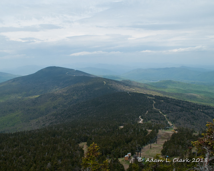 View to the north from Killington