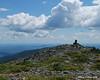 A slightly shorter sub-peak of the summit