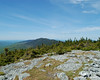 Looking back north from the summit of Mt. Abraham again