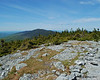The view north again from the summit of Mt. Abraham.  I headed that way, but mistakenly turned around just before getting there