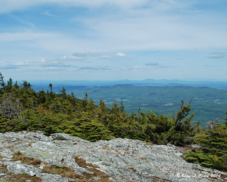 Looking northeast from Mt. Abraham