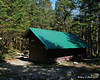 Battell Shelter sits right next to the trail just under a mile from the summit