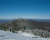 Looking up the ridge towards Mt. Ellen from the top of the ski trails on Lincoln Peak (Sugarbush ski area)