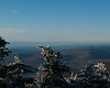 Lake Champlain to the west.  The sheer size of the lake is really evident when viewing it from the mountain peaks and seeing how far it stretches north and south