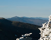 Camel's Hump, Mt. Mansfield, and other peaks to the north