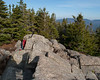 The summit of Mt. Avalon is a small area of exposed rock that sticks up above the rest of the summit area