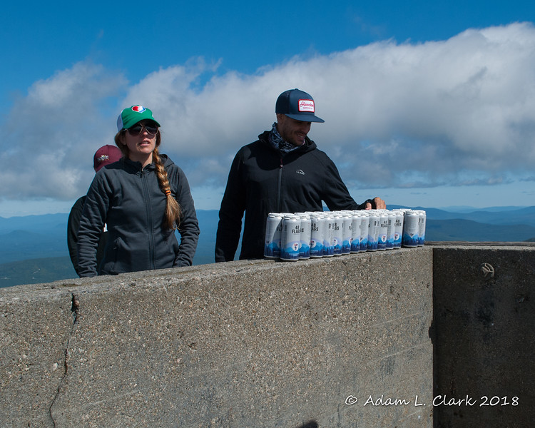 """Some of the <a href=""""https://www.hennikerbrewing.com/"""" target=""""_blank"""">Henniker Brewing Company</a> crew getting out the beer"""