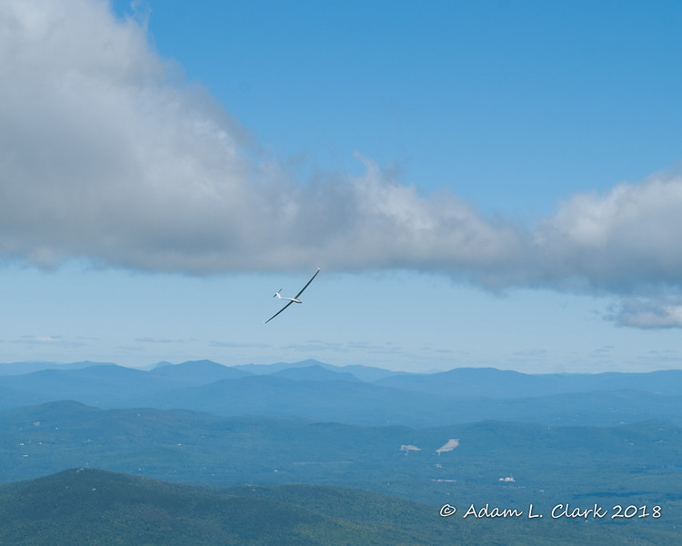 There were multiple gliders flying around today