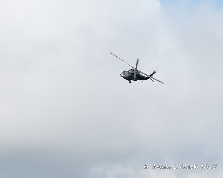 The NH National Guard helicopter