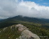 Looking up Franconia Ridge