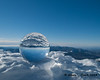 Using my crystal ball at the summit