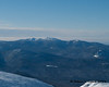 Franconia ridge behind the Twins