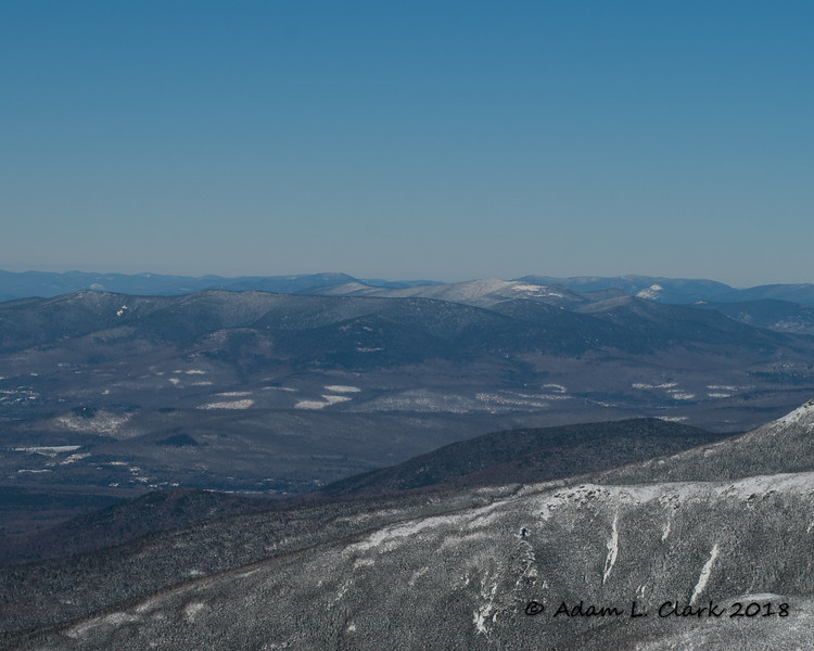 Mt. Waumbek and Mt. Cabot to the north