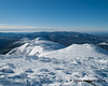Looking down the Presidential Range from Mt. Monroe