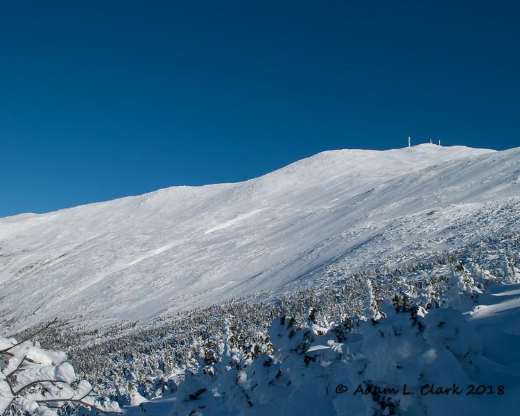 The large alpine zone above treeline