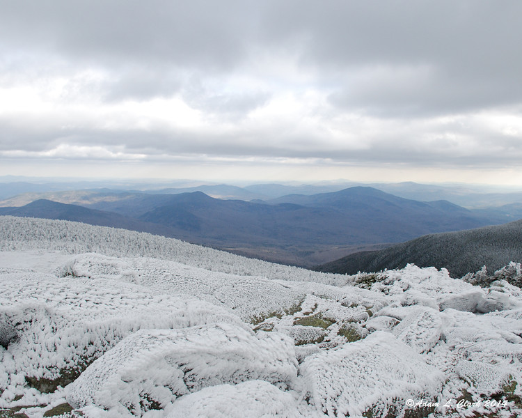 View to the east from the summit