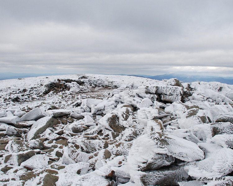 The open summit area