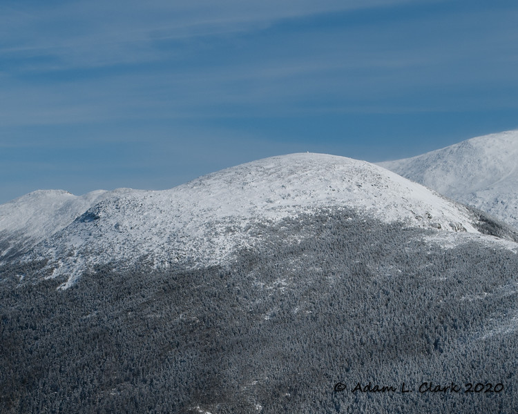 Mt. Eisenhower.  The summit cairn can be seen sticking up on the top
