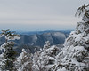 Looking further west along Scar Ridge