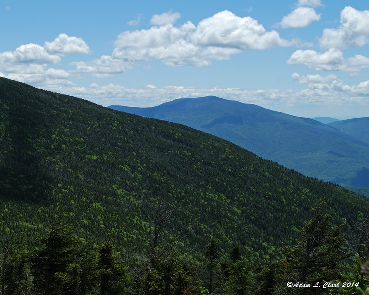 Mt. Moosilauke can be seen off in the distance as well