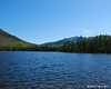 Lonesome Lake with the Northern end of the Franconia Range behind it