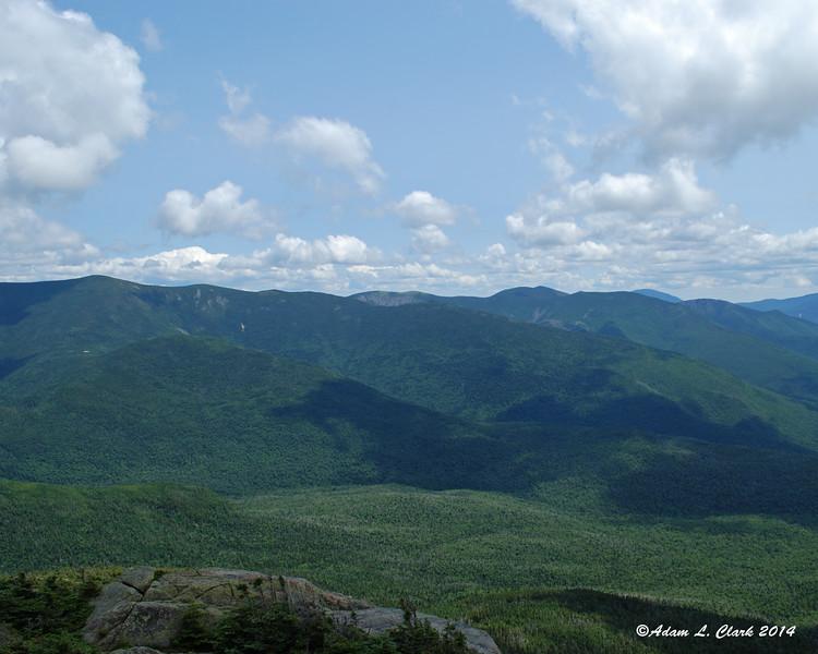 The eastern side of the Pemigewasset Wilderness