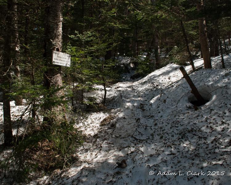 The Mizpah Cut-Off.  Our next trail