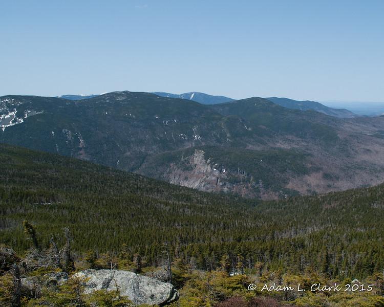 Mt. Field, Mt. Tom, and Mt. Willard in front