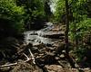 Salmacis Falls next to the trail