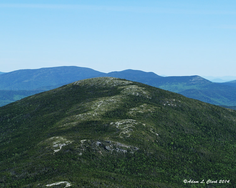 A closer view of the next summit
