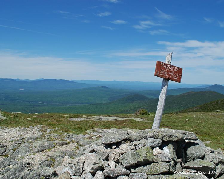 Back to the summit of Saddleback Mountain