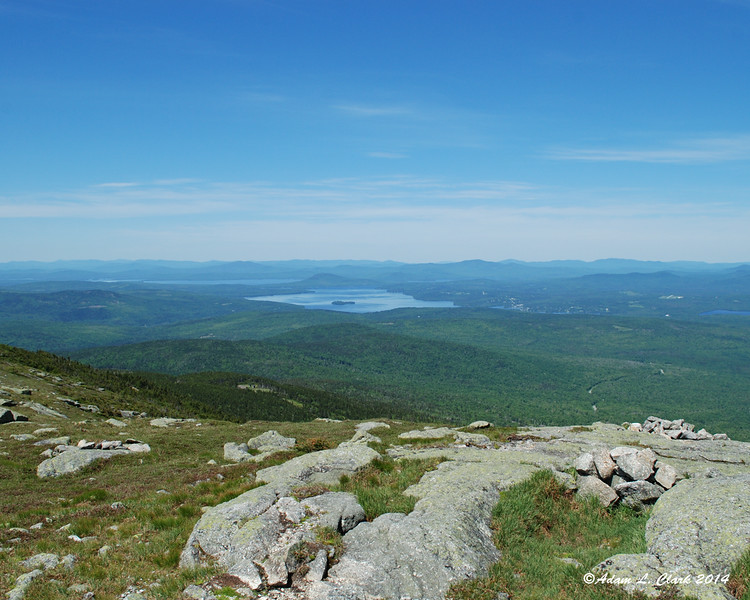Rangeley Lake to the west